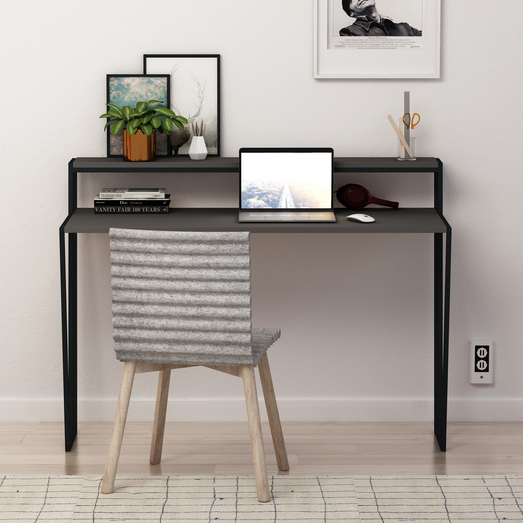 Schreibtisch Pal | Anthrazit