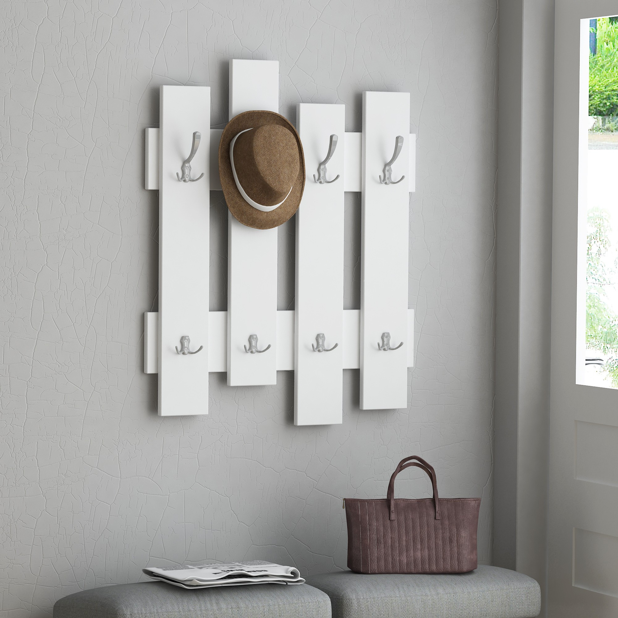 Wall Hook Wave | White