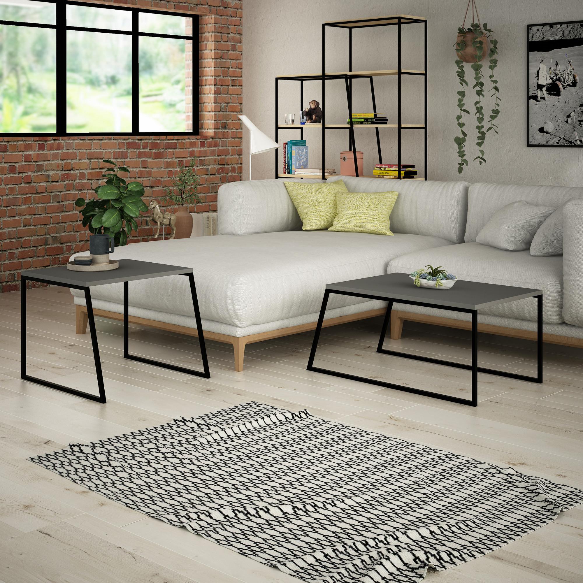 Living Room Furniture Set Pal | Anthracite