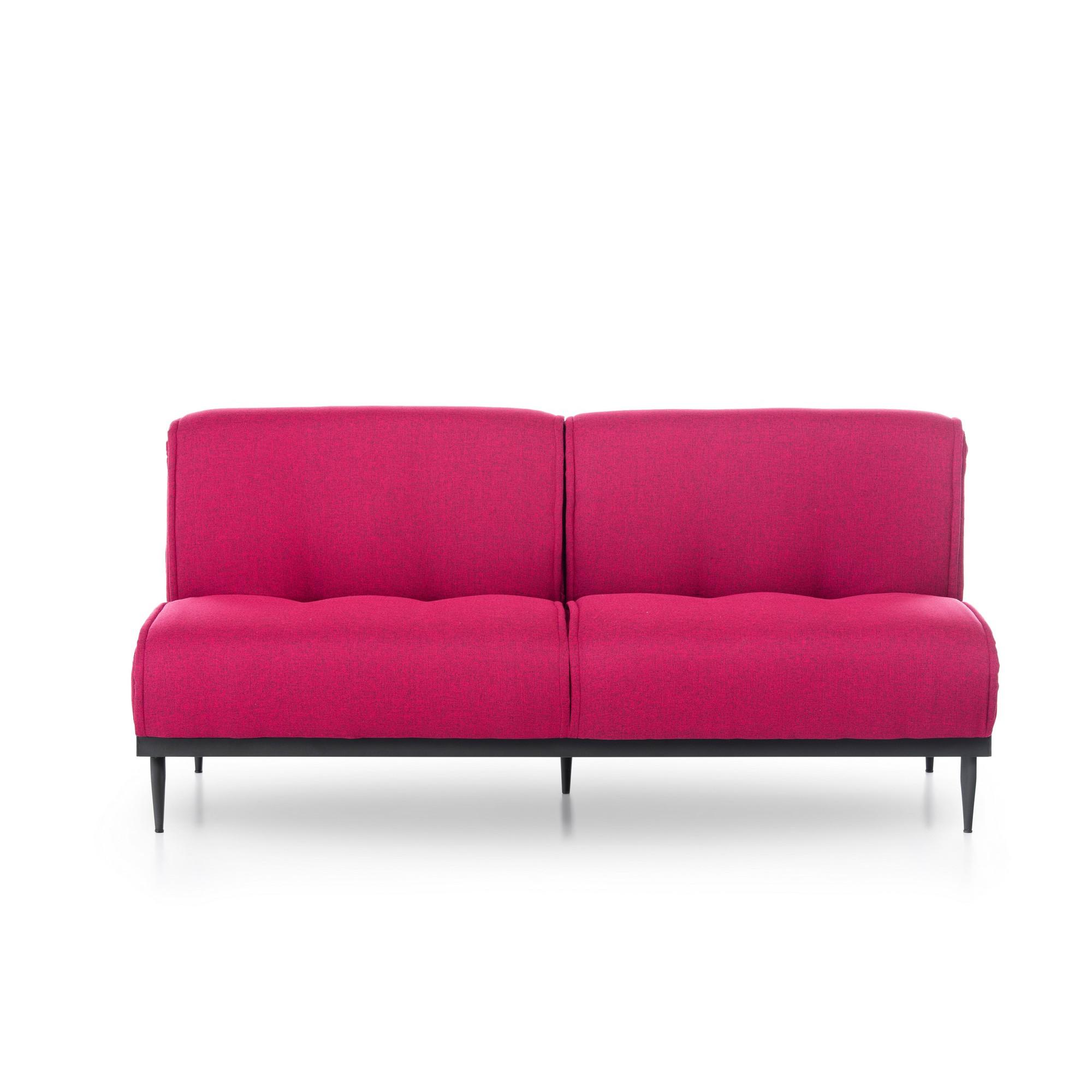 3 Seater Sofabed Anton   Fuchsia
