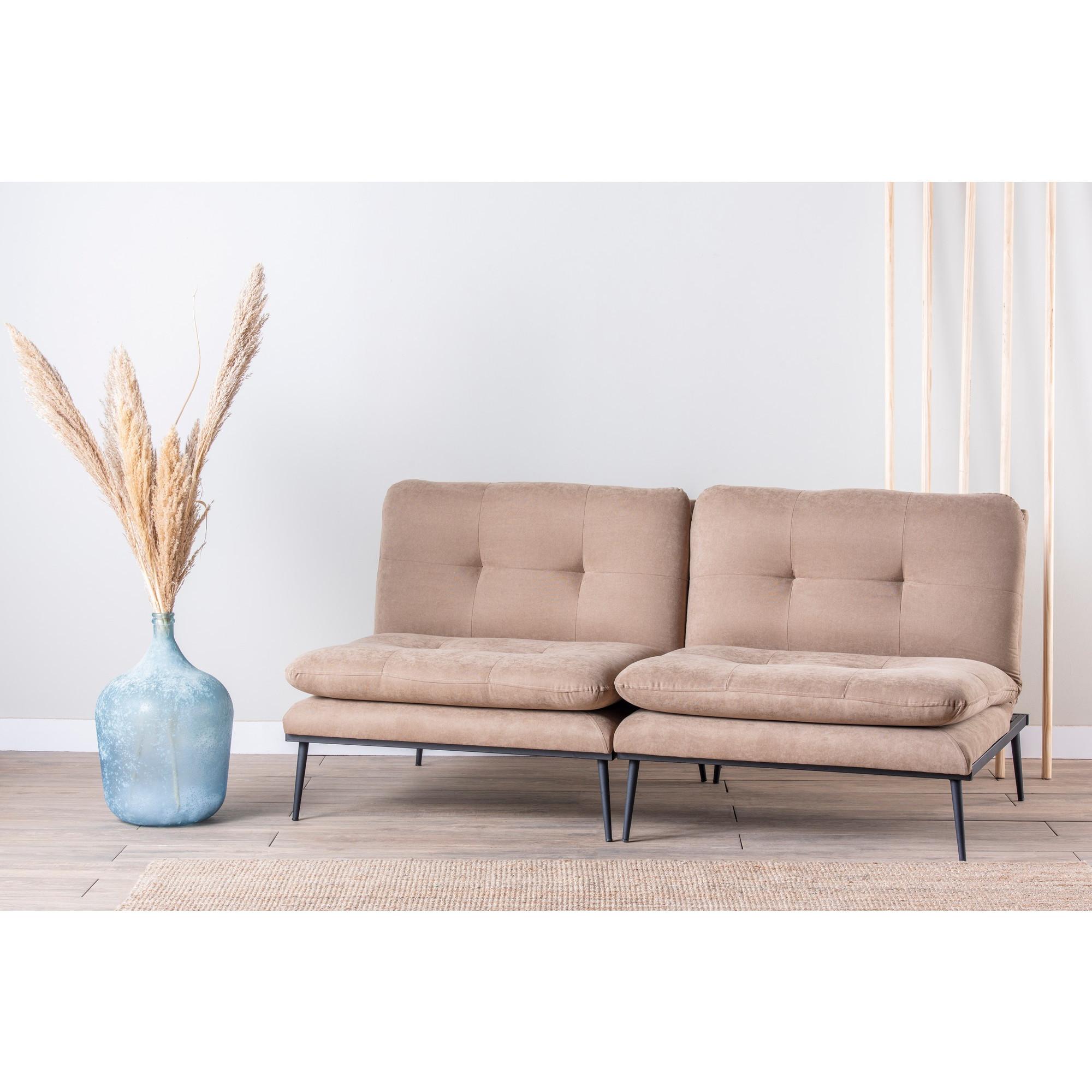 3-Sitz-Sofabett Martin | Beige