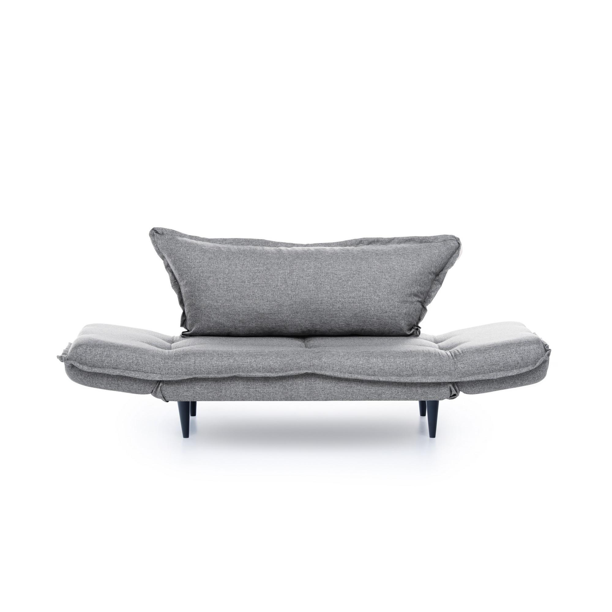 3 Seater Sofa Bed Vino | Grey