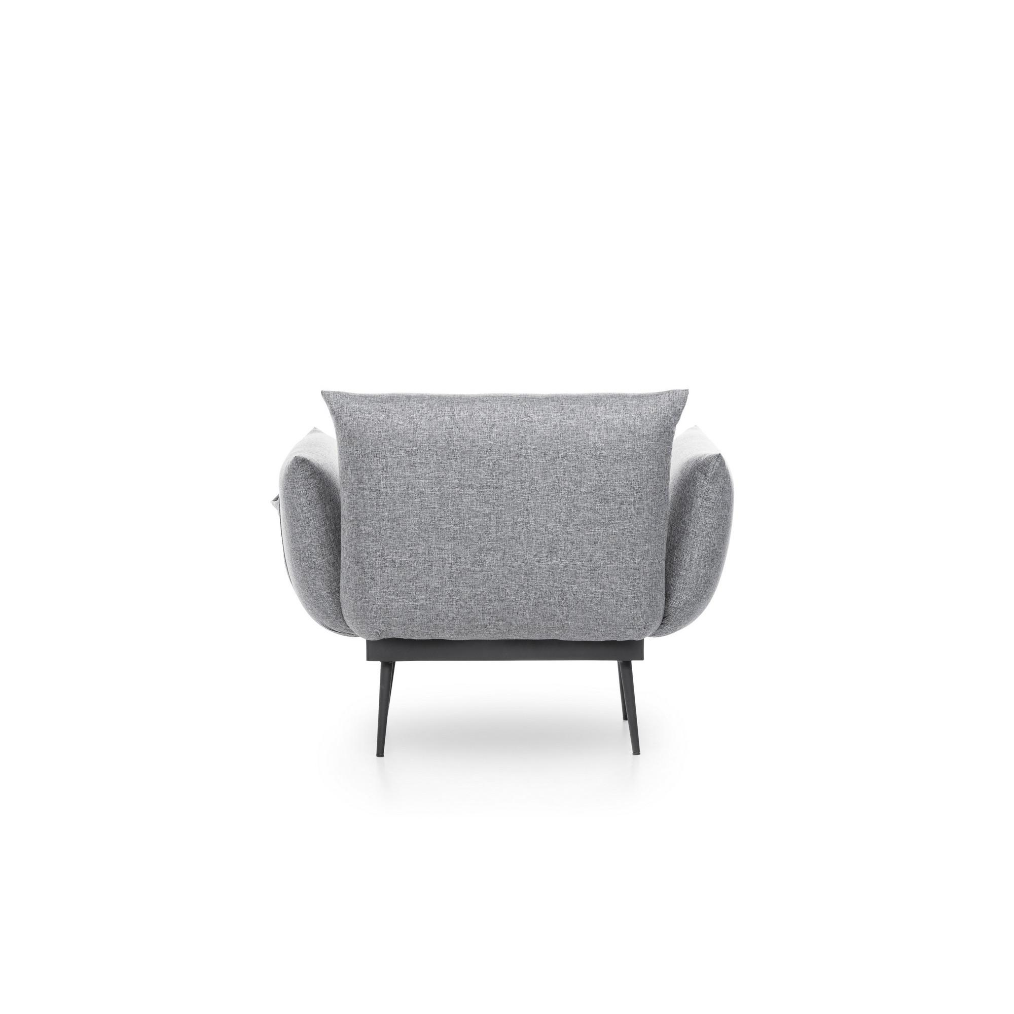 1 Seater Sofa Jax Solo   Grey