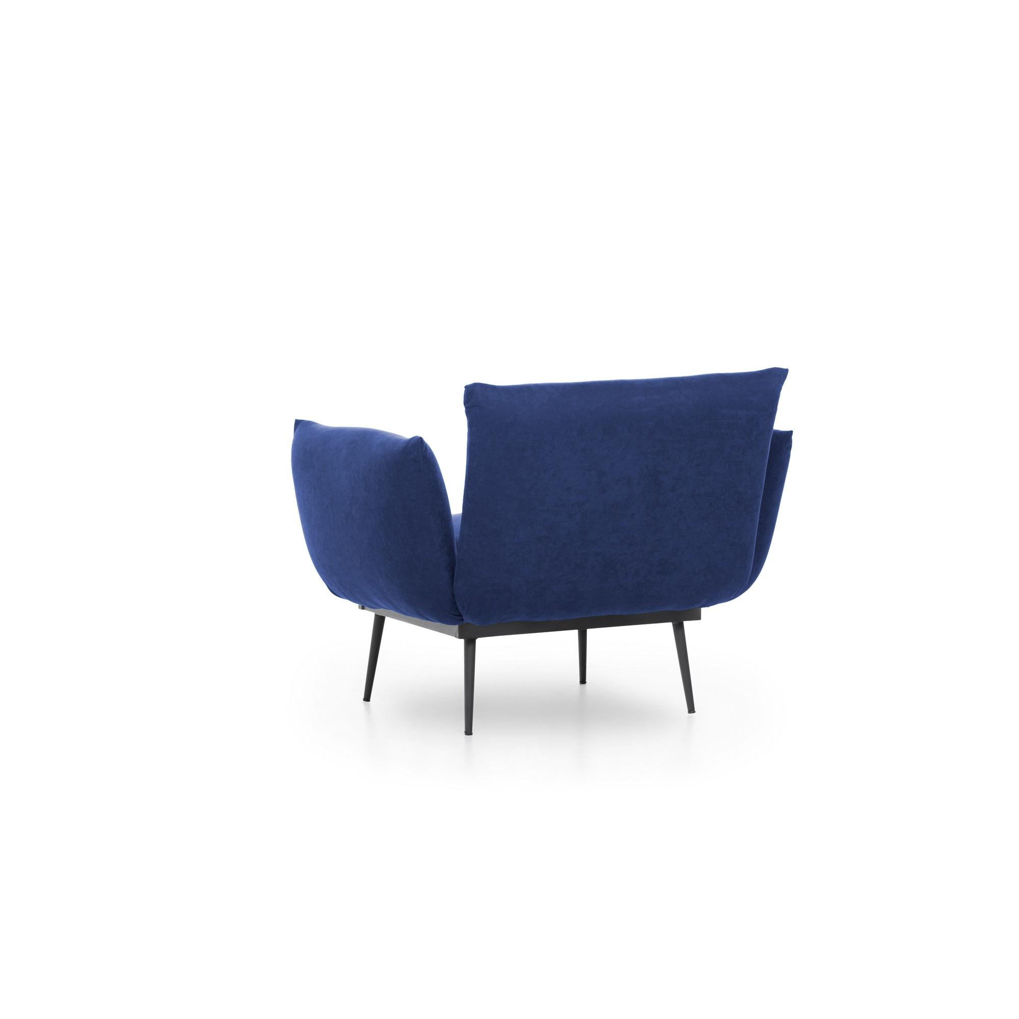1-Sitzer-Sofa Jax Solo | Blau
