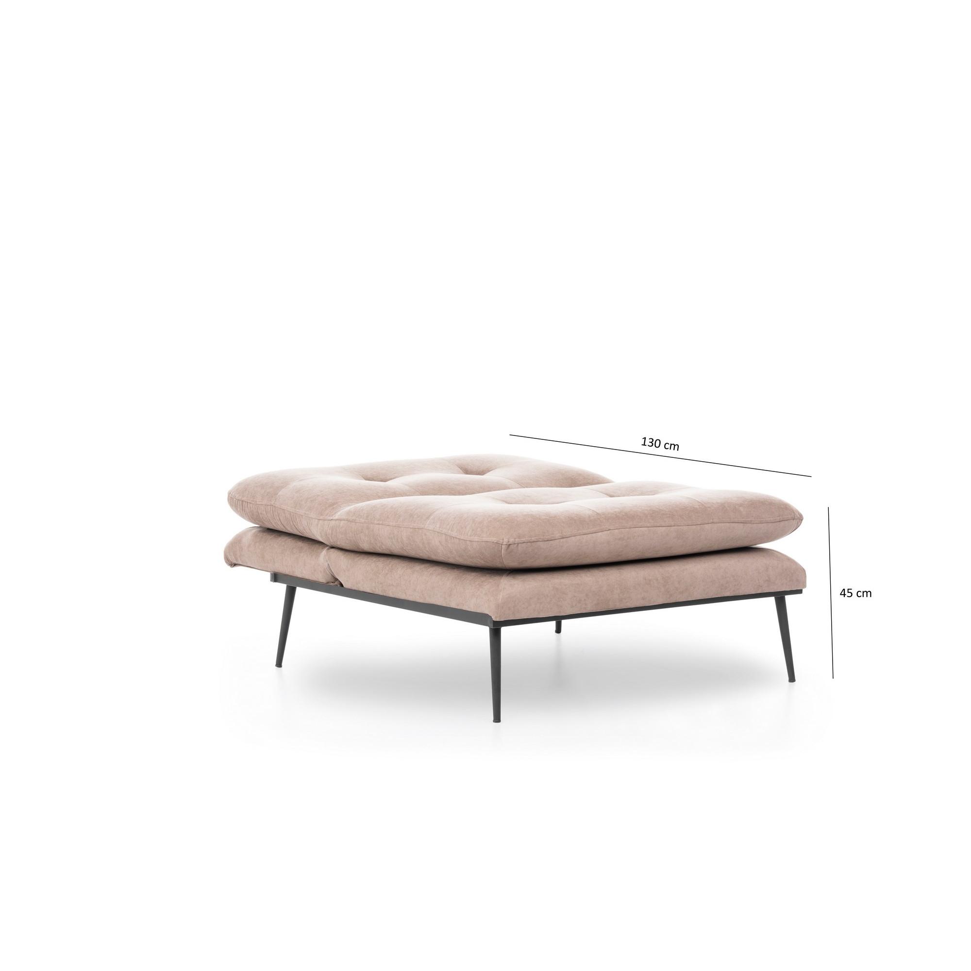 1 Seater Sofa Martin Solo   Beige