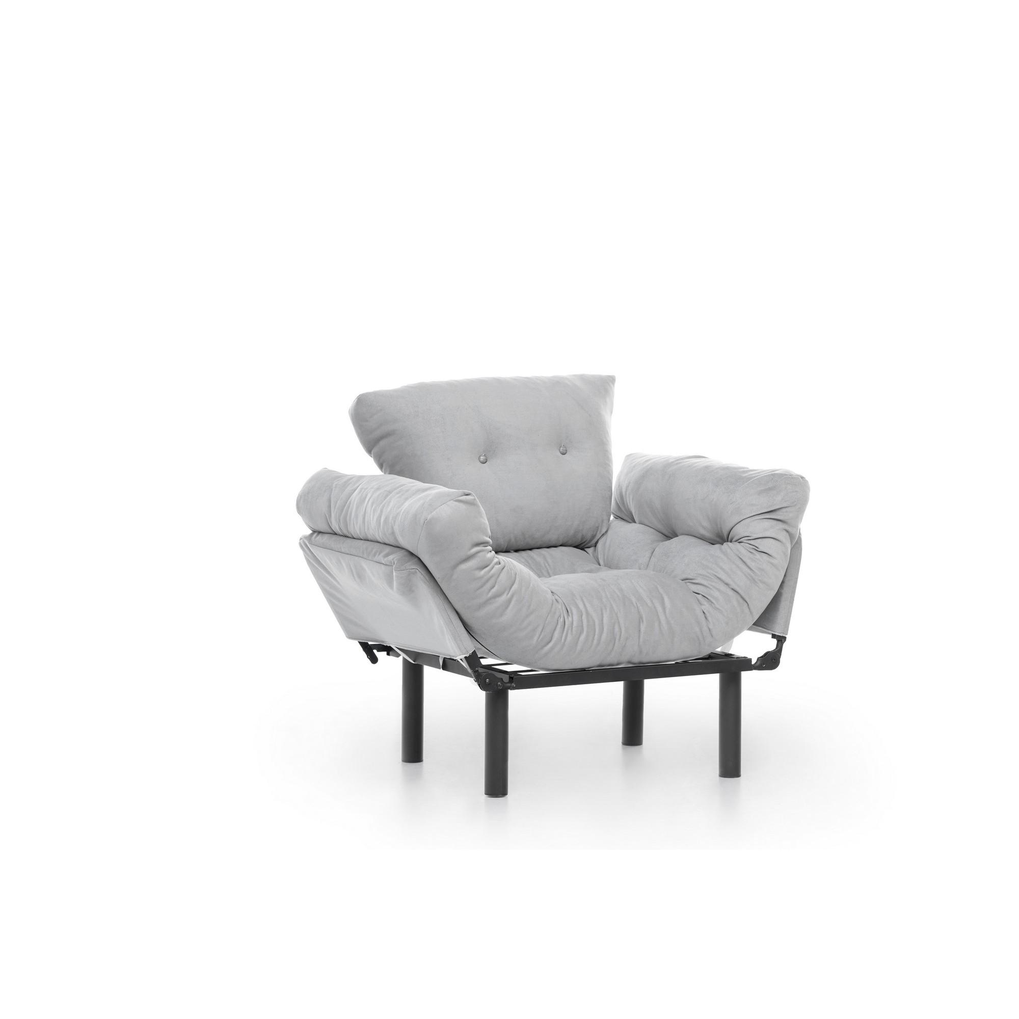 1 Seater Sofa Bed Nitta | Grey