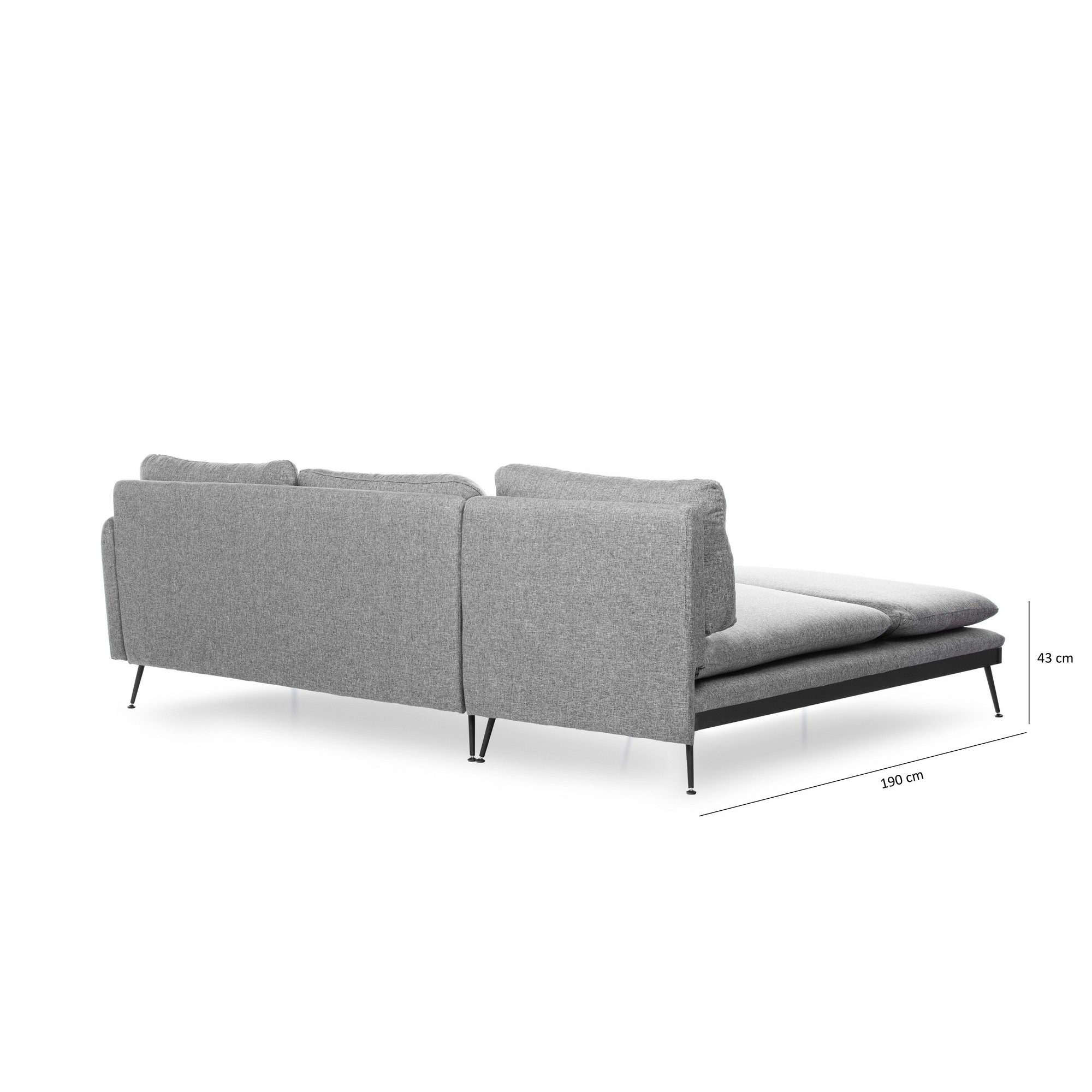 Corner Sofa Reya | Grey