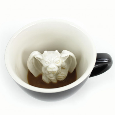 Tasse Creature Cup Gargoyle | Schwarz
