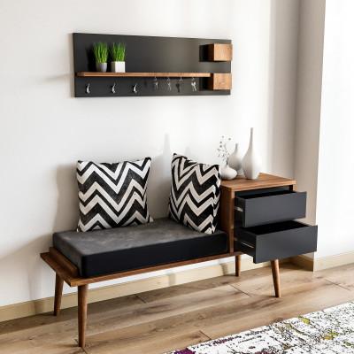 Coat Stand + Cabinet Hamra