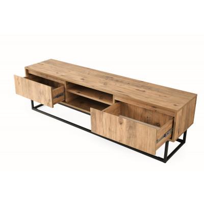 TV Stand Belinda 180 | Black + Pine