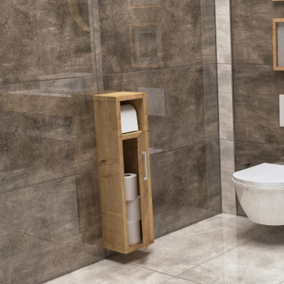 Bathroom Cabinet Star | Oak Colour