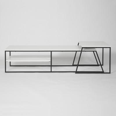TV-Möbel Pal | Weiß