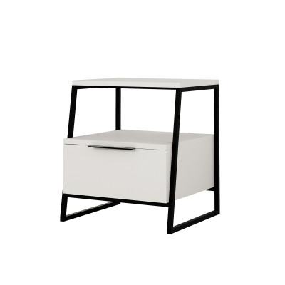 Nachttisch Pal | Weiß