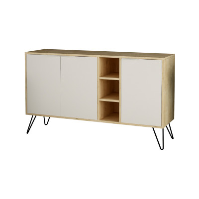 Kabinett Clara | Helles Holz & Weiß