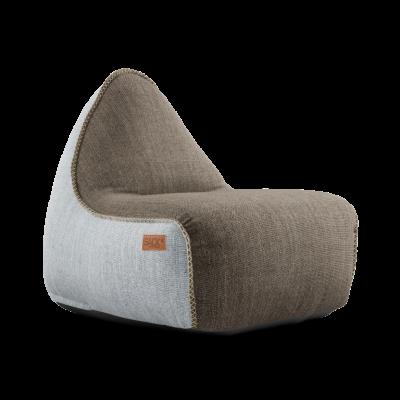 Sitzsack RETROit Cobana | Braun/Weiß