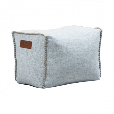 Pouf Quadrat Cobana | Weiß