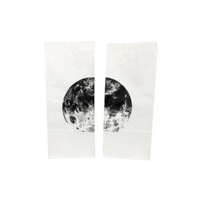 Set of 2 Paper Bags   Planet