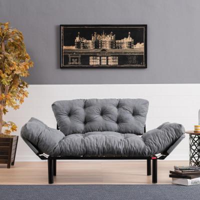 2-Sitz-Sofabett Nitta | Grau