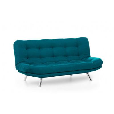 3-Sitzer-Sofabett Misa | Grün