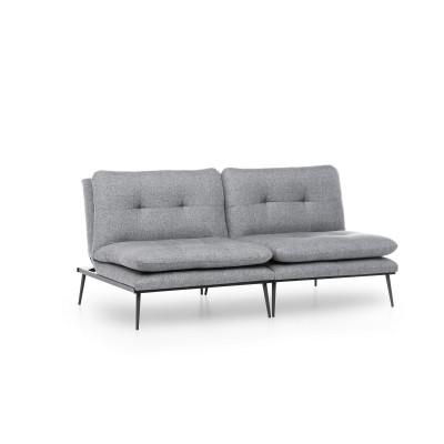 3-Sitz-Sofabett Martin | Grau