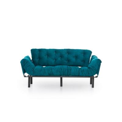 3-Sitz-Sofabett Nitta | Benzinblau