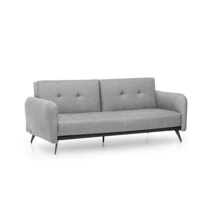 3-Sitzer-Sofabett Ron | Grau