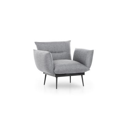 1-Sitzer-Sofa Jax Solo | Grau
