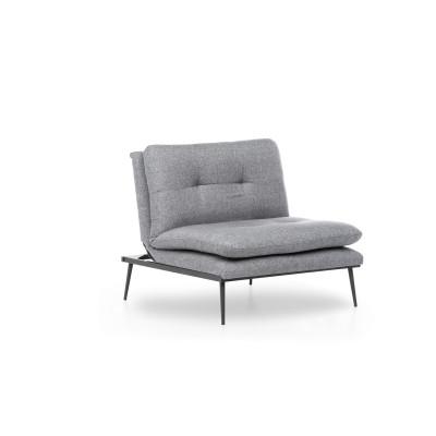 1-Sitzer-Sofa Martin Solo | Grau