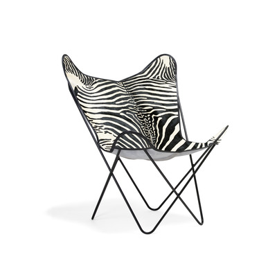 Chair Butterfly Normand Cow | Zebra