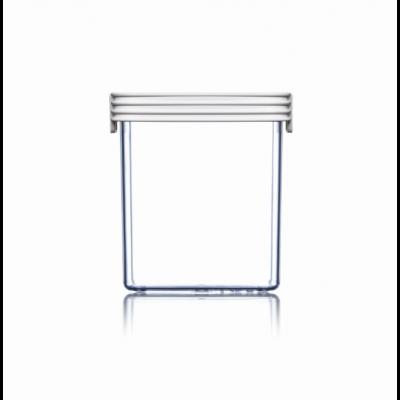 Lebensmittel-Lagerbox Grundlagen Hoch | Weiß-85 cl