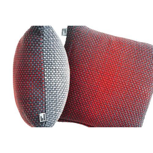 Gradiënt kussenhoes | Rood