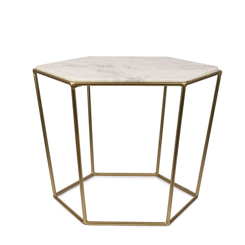 Side Table Chic | White
