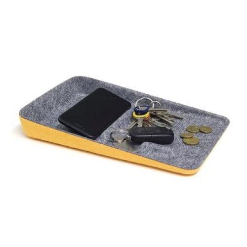 Valet Tabletthalter | Orange/Grau