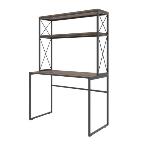 Study Desk Mercan | Black & Pine