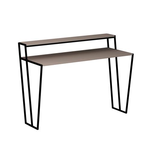 Schreibtisch Pal | Heller Mokka