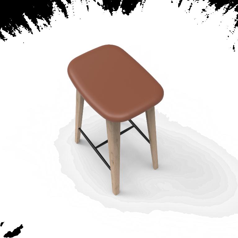 Barhocker Eiche | Braun