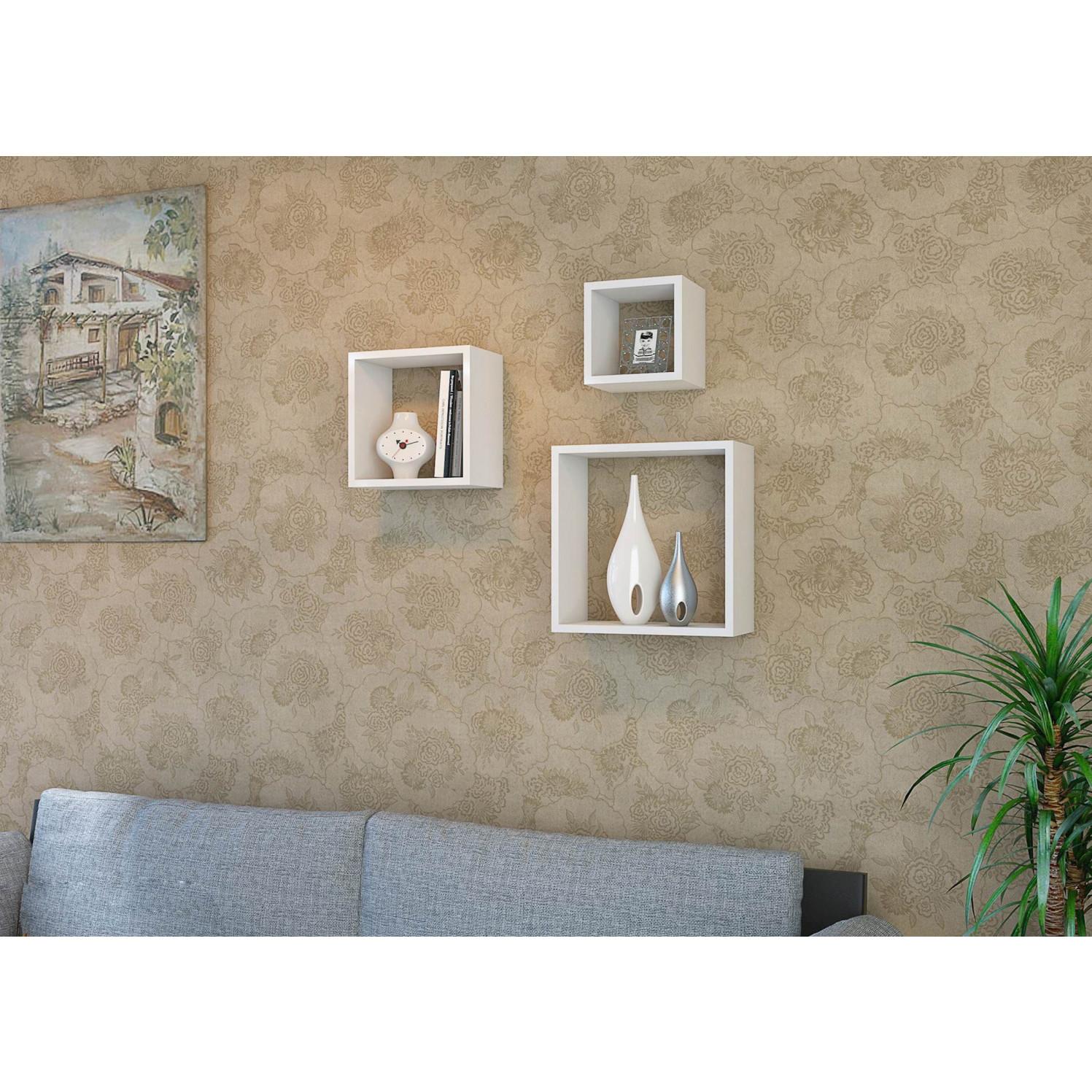 Shelf Fuji Set of 3 | White