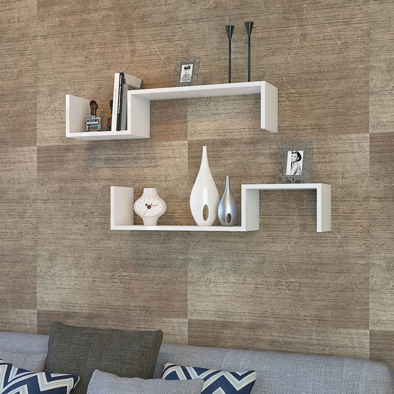 Shelf Liatris Set of 2 | White