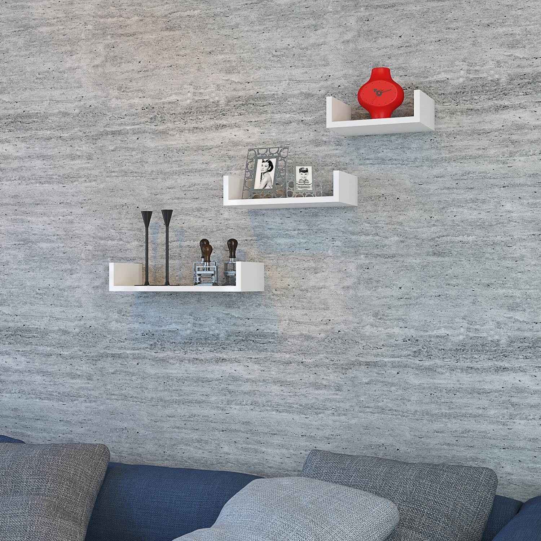 Shelf Lilium Set of 3 | White