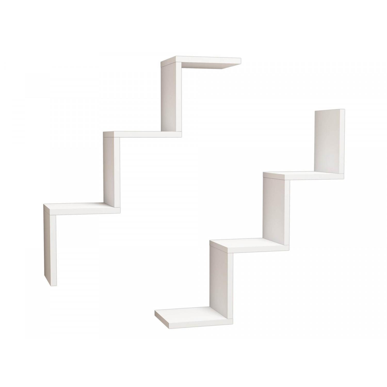Shelf Iris Set of 2 | White