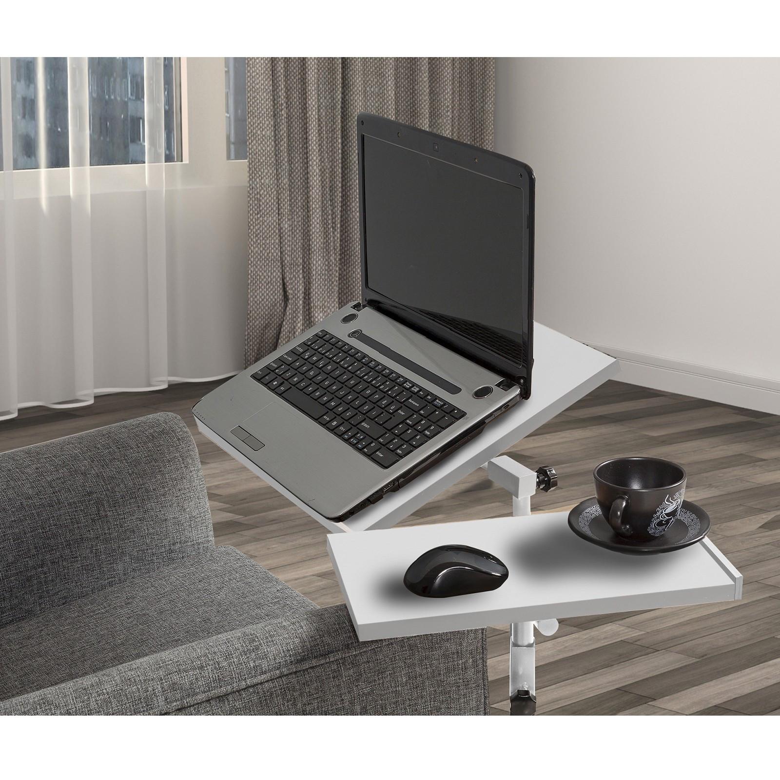 Verstellbarer Laptop-Stehtisch Glen   Weiß