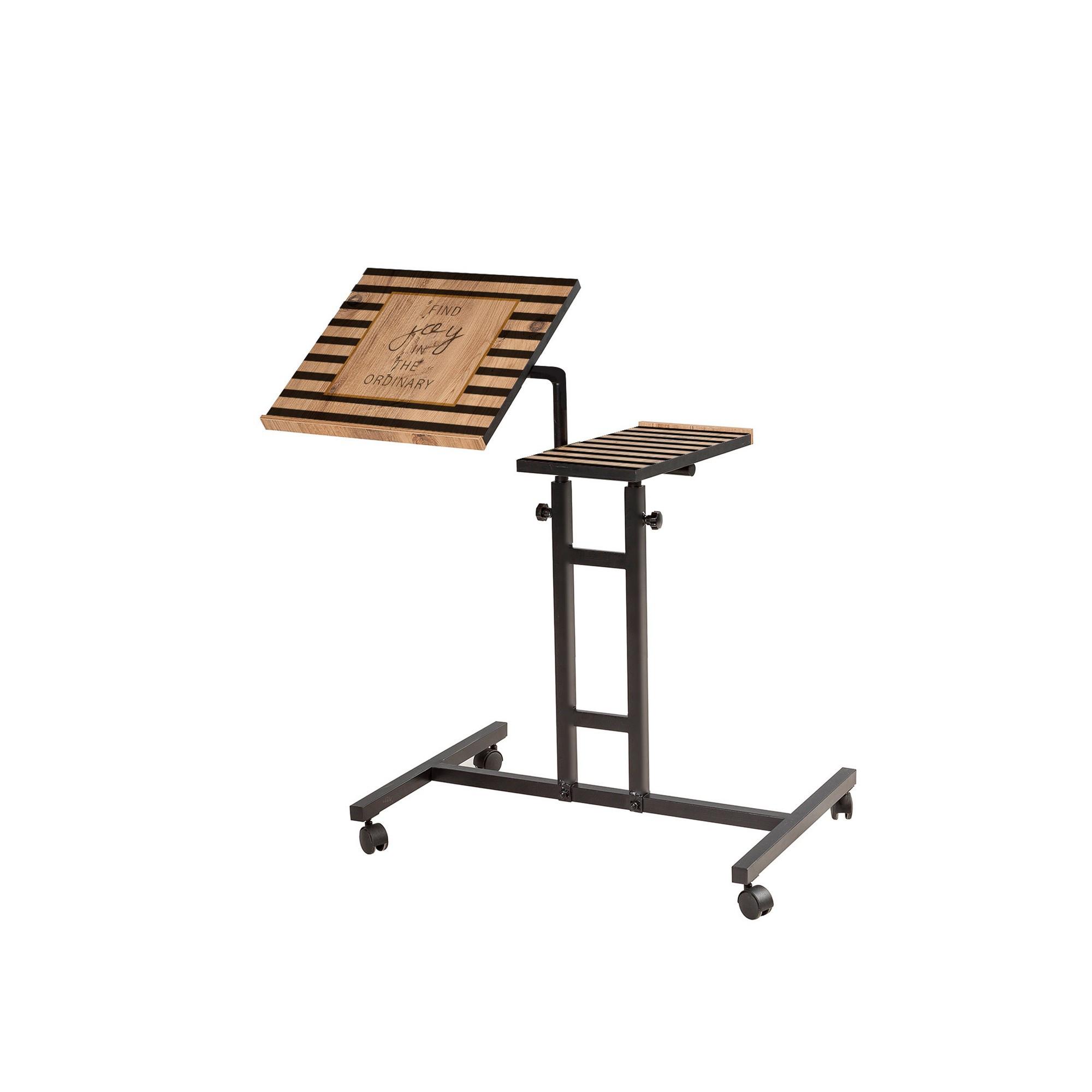 Verstellbarer Laptop-Stehtisch Glen - 768 | Black Pine