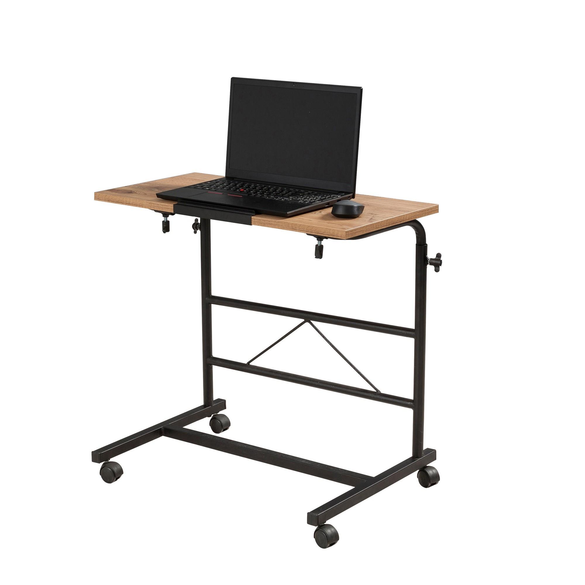 Verstellbarer Laptop-Stehtisch Aris   Black Pine