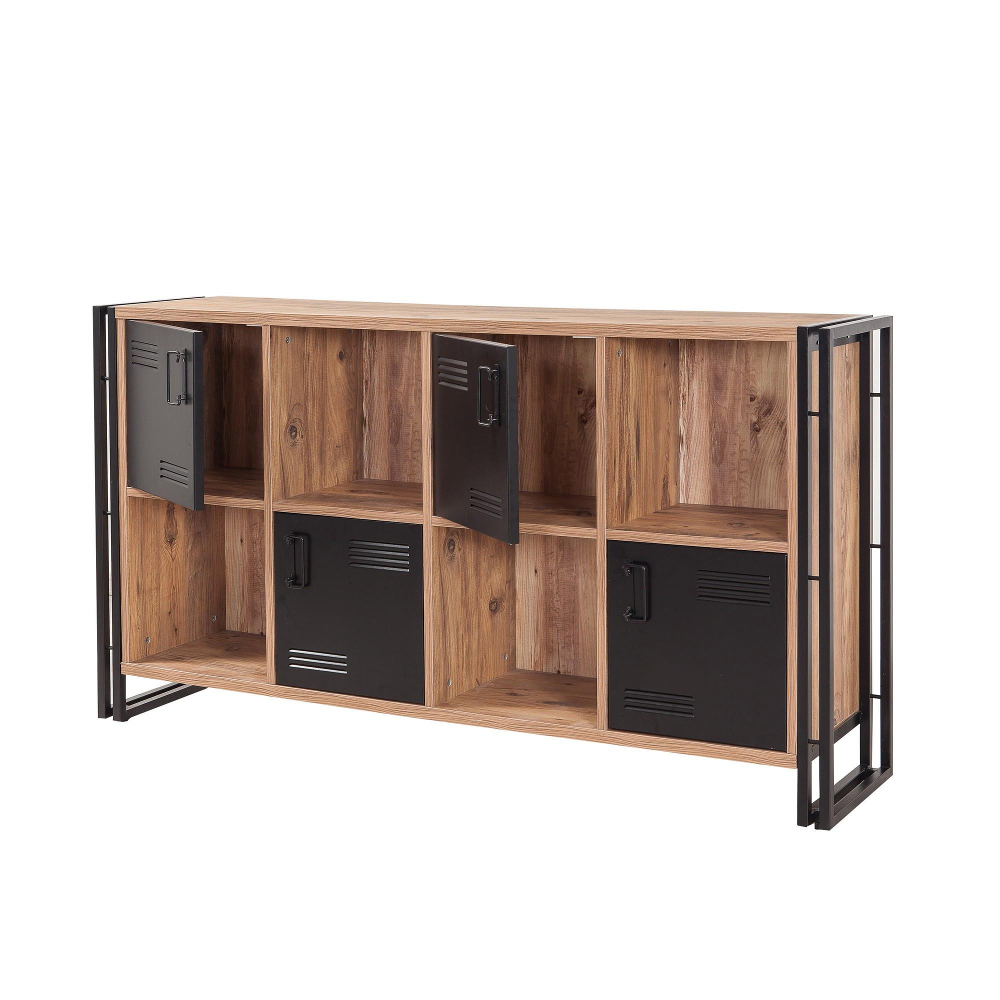 Bücherregal Cosmo Matrix | Schwarzkiefer