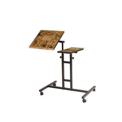 Verstellbarer Laptop-Stehtisch Glen | Black Pine
