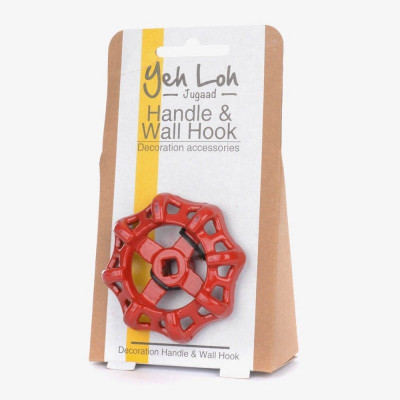 Handle & Wall Hook | Red