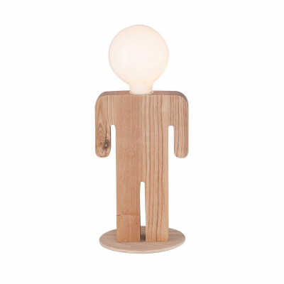 Table Lamp Lui | Light Wood