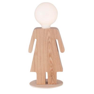 Table Lamp Lei | Light Wood