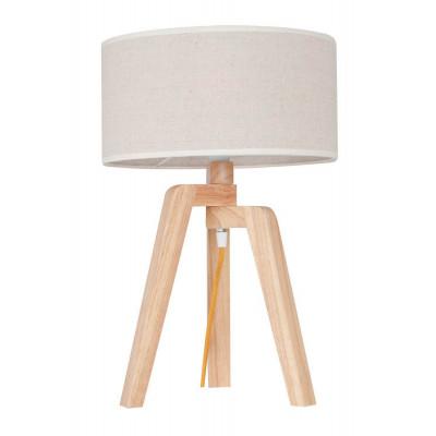 Table Lamp Tris | Light Wood / White