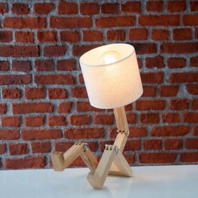 Table Lamp Omino | Light Wood / White